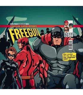 Lot de 4 Boxers Freegun homme Comic