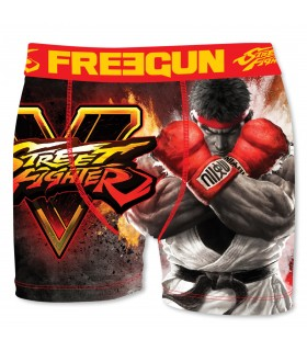 Boxer Garçon Street Fighter Ryu