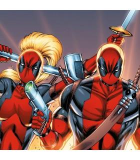 Lot de 4 Boxers homme Deadpool