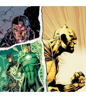 Lot de 3 Boxers Freegun homme DC Comics