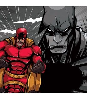 Lot de 4 Boxers Freegun homme Geek Comics