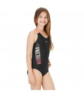 Maillot de bain fille 1 picèe dos nageur Open