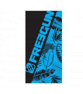 Draps De Plage Plume Noir/Bleu