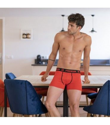 Pack of 4 men's cotton Red Boxers