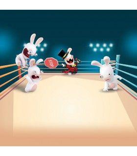Lot de 4 Boxers garçon Lapins Crétins