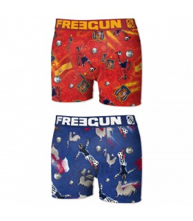 Lot de 2 boxers Garçon P50 Freegun