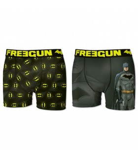 Lot de 2 Boxers Homme Batman Freegun
