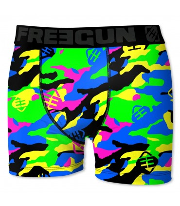 Lot de 5 boxers Homme Freegun