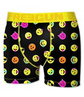 Boxer Homme Emoticone Freegun