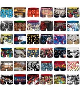 Lot de 5 Boxers Freegun homme drapeaux