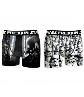 Lot de 2 Boxers Homme FREEGUN STAR WARS