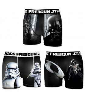 Lot de 3 Boxers Homme FREEGUN STAR WARS