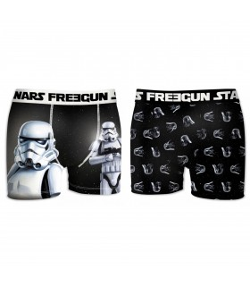 Lot de 2 Boxers Garçon FREEGUN STAR WARS