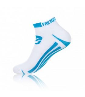 Lot de 3 chaussettes FREEGUN LIGNES BLANC/BLEU