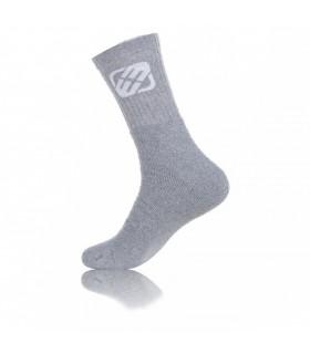 Lot de 12 chaussettes logo grises freegun