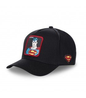Casquette Capslab Dc Comics Superman Noir