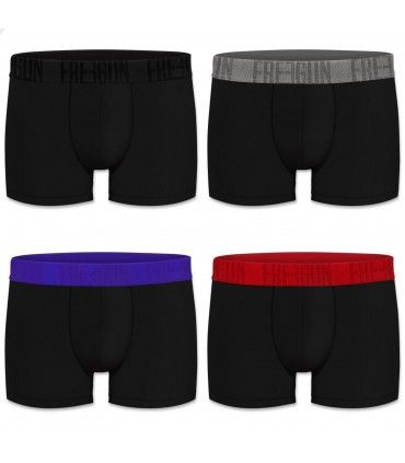 Lot de 4 boxers homme signature freegun