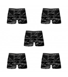 Lot de 5 Boxers Freegun homme Aktiv
