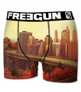 Boxer Homme CITY FREEGUN