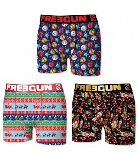 Lot de 3 Boxers garçon Christmas
