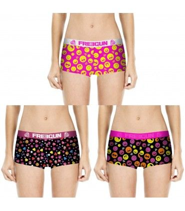 Lot de 3 shortys fille FREEGUN