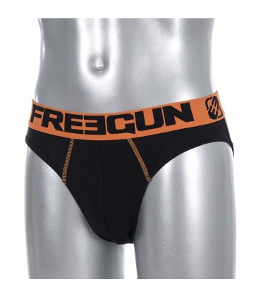 Slip coton HOMME UNI ORANGE FREEGUN