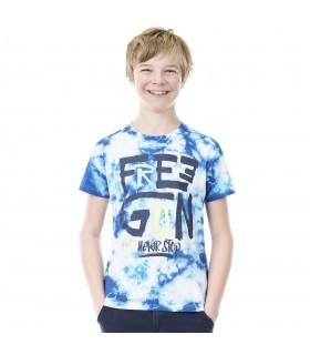 T-Shirt Garçon FREEGUN Tie and Dye