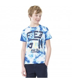 T-Shirt Garçon Tie and Dye FREEGUN