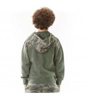 Sweat Zippé Garçon Camouflage FREEGUN