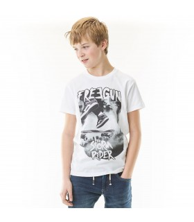 T-Shirt Garçon Storm Rider FREEGUN