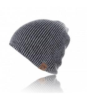 Black bicolor hat