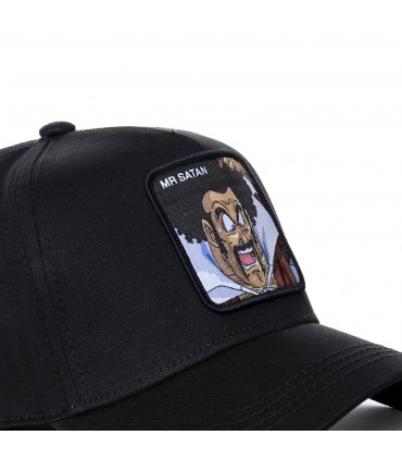 Casquette Capslab Dragon Ball Z Mister Satan Noir zoom patch