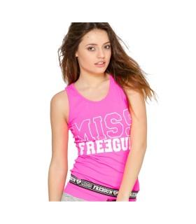 Débardeur femme fitness Miss Freegun