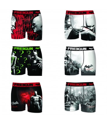 Lot de 6 Boxers Homme FREEGUN DC COMICS