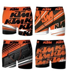Lot de 4 Boxers Freegun homme KTM