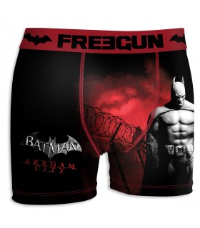 Boxer Homme FREEGUN RED PRISON DC COMICS