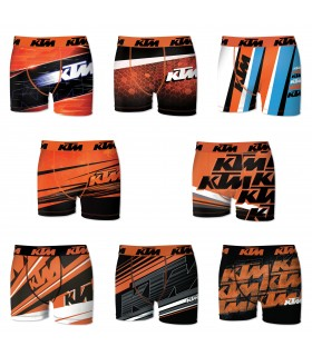 Lot de 8 Boxers Freegun homme KTM
