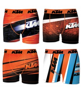 Lot de 4 boxers ktm homme multicolore