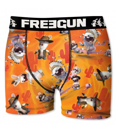 Boxer Homme Indian FREEGUN Lapins Crétins