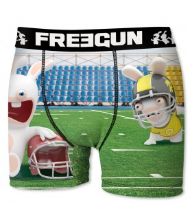 Men's Raving Rabbids Foot Boxer