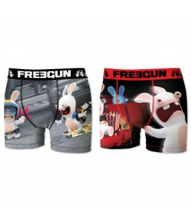 Pack of 2 men's Raving Rabbids Boxers