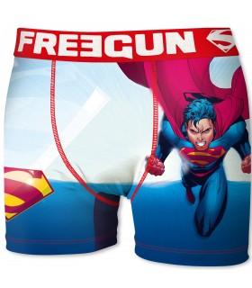 Boxer homme superman freegun