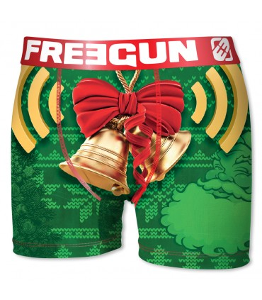 Lot de 4 Boxers Homme CHRISTMAS FREEGUN