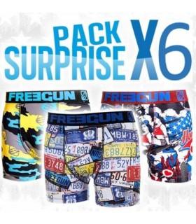 PACK DE 6 BOXERS SURPRISE