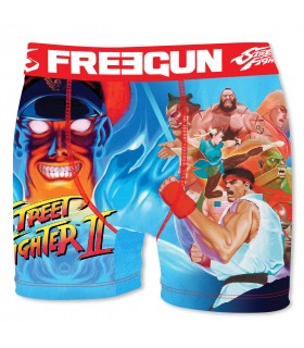 Lot de 3 Boxers Freegun homme Street Fighter