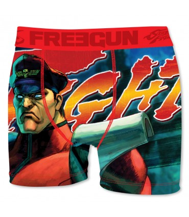 Lot de 6 boxers Homme Street Fighter