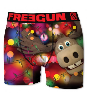 Lot de 4 Boxers Garçon CHRISTMAS FREEGUN