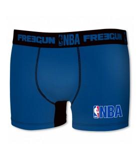 Lot de 2 Boxers Garçon Basketball Noir/Bleu