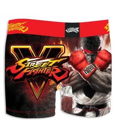 Lot de 3 boxers Garçon Street Fighter