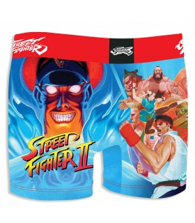 Boxer Street Fighter Pow vue de dos freegun